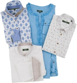 Überraschungspaket - Musterhemden und Musterblusen
